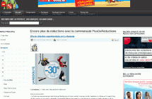 Site de couponing PlusdeReductions